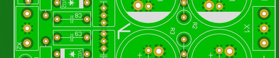 Схему БП с разделением батареи